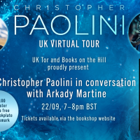Ticket and Book Christopher  Paolini  thumbnail