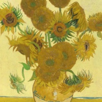 National Gallery: Vincent Van Gogh, Sunflowers   1000 piece Jigsaw Puzzles thumbnail