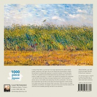 Vincent Van Gogh: Wheat Field with a Lark  1000 piece Jigsaw Puzzle thumbnail