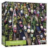 Floating Market 500 piece Jigsaw thumbnail