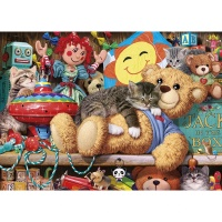 Snoozing on the Ted 1000 Piece thumbnail
