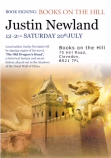 Justin Newland Signing 20th July 2019