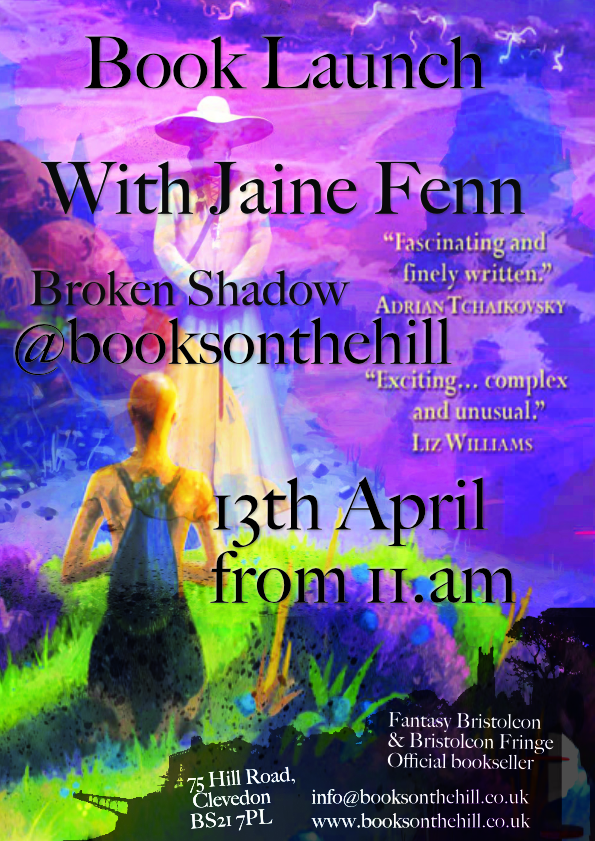 Book Launch with Jaine Fenn 13th April 2019